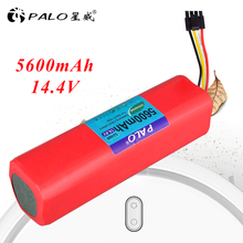PALO li-ion battery for Xiaomi robot roborock S50 S51 Battery 14.4V 5600mAh robot vacuum cleaner accessories parts for b6009 battery for liectroux robot vacuum cleaner battery 1pc 2000mah lithium ion