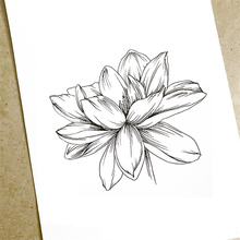 Sketch Flower Clear Stamps Transparent Rubber Stamps Silicone Scrapbooking for Card Making Album Craft Decoration New Stamp 2019