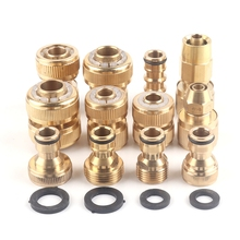 Hose-Fittings Adaptor Watering-Tube-Accessories Thread-Joint Garden-Quick-Connector Water-Pipe