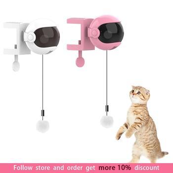 Electric Cat Toy  Interactive Toy For Cat Cat Game Yo-Yo Lifting Ball Electric Toy Pet Retractable Rope Intelligence Toy magicyoyo 7x ball m002 yo yo ball toy alloy yo yo bearing reel