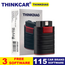 Thinkdiag OBDII full system Power than X431 easydiag Diagnostic Tool 4 free software 16 reset services pk AP200 OBD2 Code Reader(China)