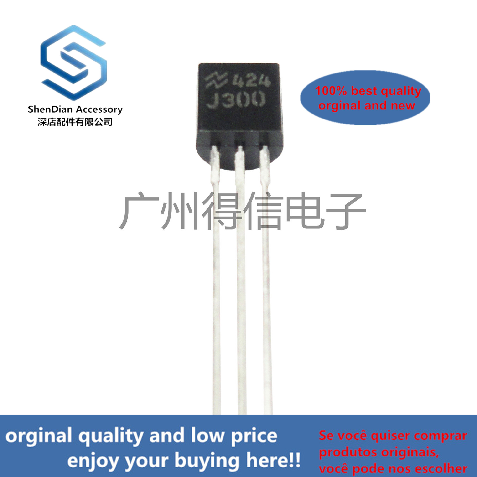 10pcs 100% Orginal New J300  N-channel Field Effect Can Be Used As BF245 For The Last Three Levels TO-92 Real Photo