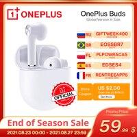Globale Version OnePlus Knospen TWS Drahtlose Kopfhörer Umwelt Geräuschunterdrückung OnePlus 9 Nord 2 8 8T OnePlus Offizielle Shop