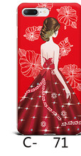 Ins Hot Red Gril Love Wedding Bride Holiday happy Phone Case For iPhone 7 7 Puls 6 6S Puls X Cases Hard Glossy Back Cover Coque(China)