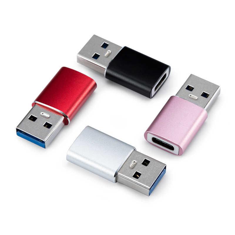 Type C Vrouwelijke Naar USB 3.0 Male Otg Adapter Oplader Converter voor Macbook Nexus Huawei USB C Type-C naar Usb Opladen Adaptador