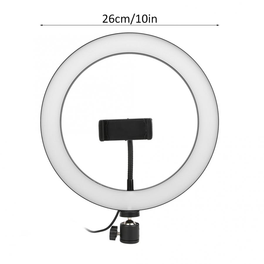 cheapest LED Ring Light Camera Ringlight Tripod Stand Phone Holder For YouTube Tiktok Photography Video Photo Studio Lamp Kit