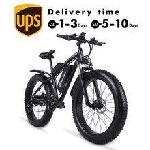 Vélo électrique de 26 pouces à pneu large 4.0 et batterie lithium 17 ah, appareil pour affronter la neige et la montagne 48 V, avec moteur VTT MX02S 1000W