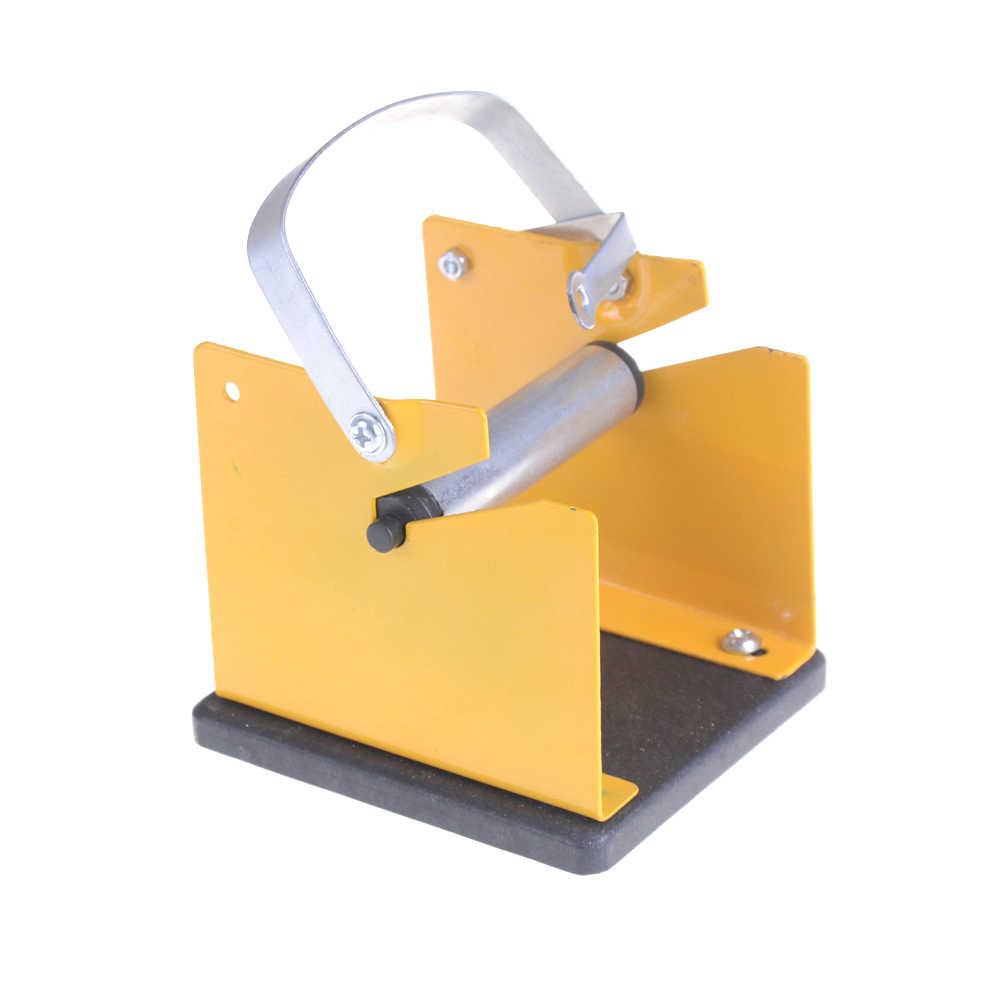 조정 가능한 솔더 릴 디스펜서 주석 관리 스풀 피더 전기 용접 도구 액세서리 솔더 와이어 스탠드 홀더 지원