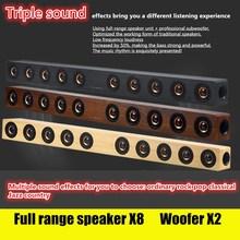 Long Large TV Speaker Wireless Bluetooth Speaker 10 Speakers Stereo Bass Sound Bar for TV For Computer Subwoofer Music Columns