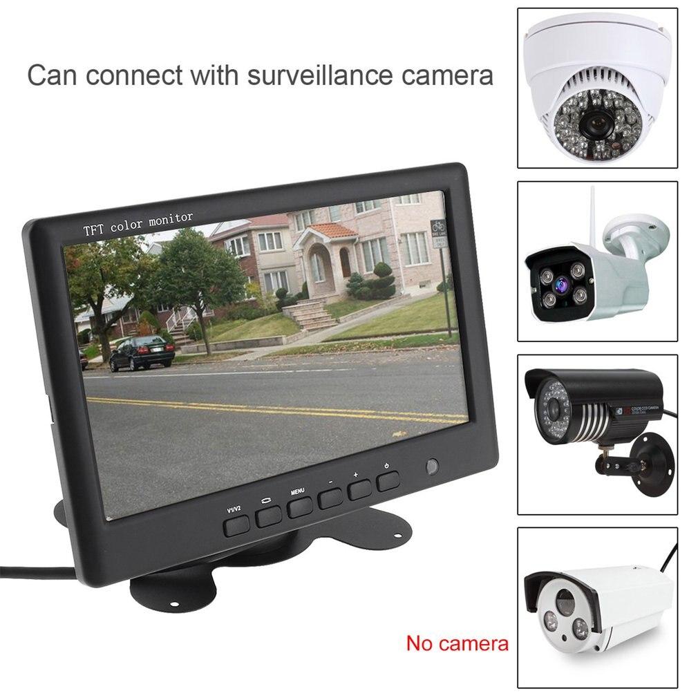 Auto Styling 7 Zoll Auto Monitor Farbe Lcd Bildschirm Auto Parkplatz System Monitor Für Auto Reverse Rückansicht Kamera