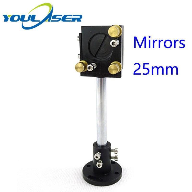 Co2 Laser First Reflect Mirror 25mm Mount Support For Laser Integrative Holder