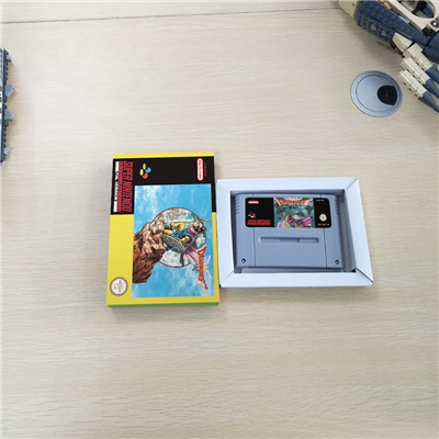 Dragon Quest III 3 - EUR Version RPG Game Card Battery Save With Retail Box image