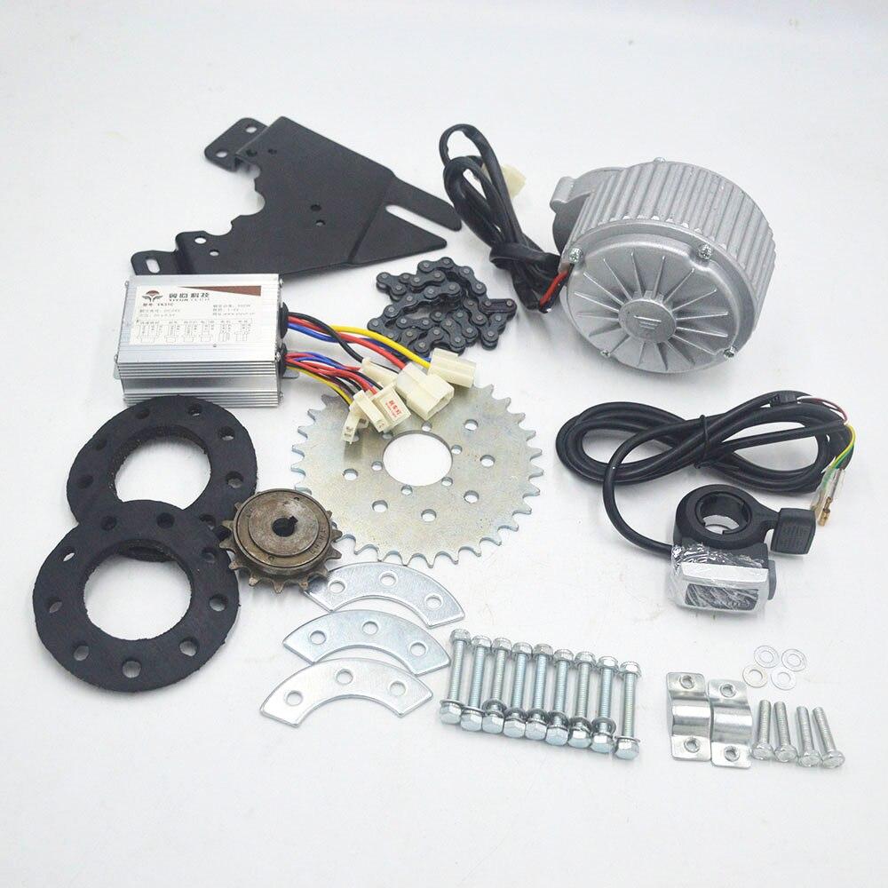 24V 36V 450W Electric Bike Conversion Kit Fit Fahrrad Verwenden Speichen Kettenrad Kette Stick 20-35 KM/H