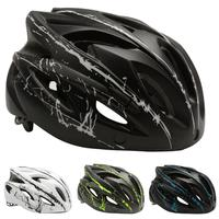 Bicycle Helmet Ultralight Breathable Mountain Road Bike Safety Helmet with Windproof Goggles
