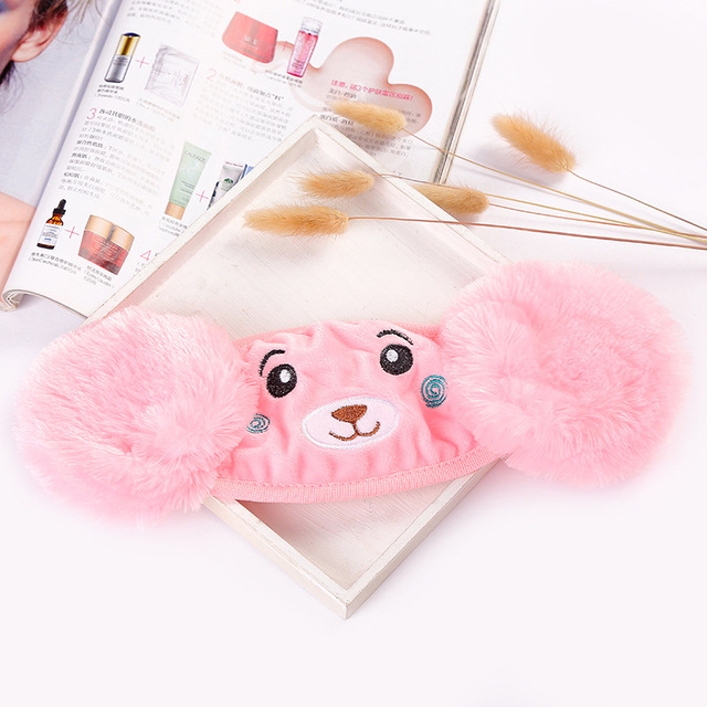 Kids Earmuffs Mouth Mask Windproof Mouth-Muffle Anti Dust Winter  Children Anti Haze Flu Cotton Face Cover Earmuffs 3