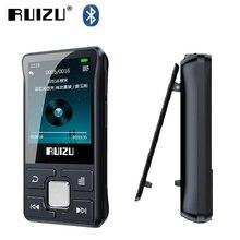 Original RUIZU X55 Clip Sport Bluetooth MP3 Player Mini 8gb Music Player with FM,Recording,E Book,Video,Clock,Pedometer