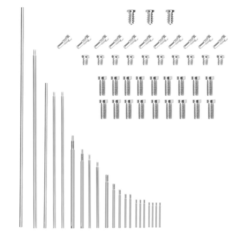 63 шт. набор инструментов для ремонта Oboe, ролики для ключей Oboe с винтами, запасные части