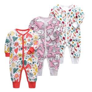 Одеяло для маленьких мальчиков и девочек; Пижама для новорожденных; одежда для сна с длинными рукавами для младенцев 3, 6, 9, 12, 18, 24 месяцев; Пиж...
