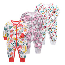 Baby Boys Girls Blanket Sleepers Newborn Babies Sleepwear Infant Long Sleeve 3 6 9 12 18 24 Months baby boy Pajamas(China)