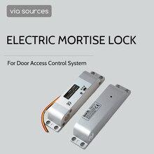 電気ドロップボルトロック電気スマートドアロックアクセス制御ホームセキュリティフェイルセーフ dc 12 用オフィス工場