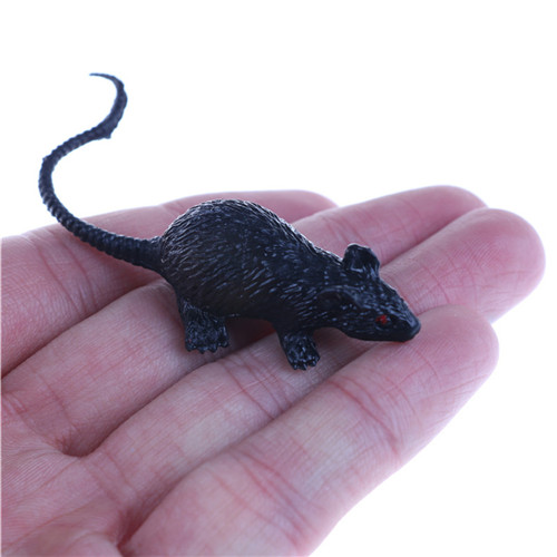 2020 Year Gift Halloween Decor Tricks Party Plastic Rats Mouse Model Trick Toys Pranks Props Practical Gag-Funny Joke Tricky Toy
