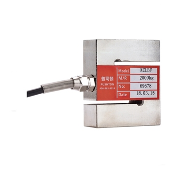 High Precision KCLBF Electronic scale 500kg Square S tension wire pressure Sensor weighing mixing Station batching scale tension pressure measuring force sensor 4msfs 50kg series high precision 0 20