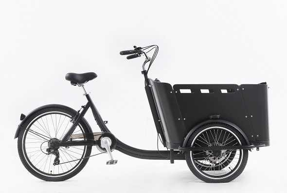 KN-T05C 3 ホイール屋外食品バイク商品配達キャビントライク貨物三輪車