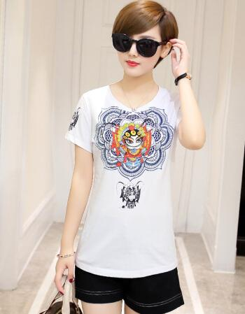 2020 Summer Fashion T Shirt Women Gray Woman Tshirt
