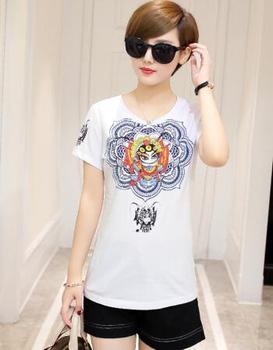 2020 sommer Mode T-shirt Frauen grau Frau T-shirt