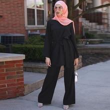 플러스 사이즈 2 피스 세트 여성 앙상블 Femme 2 조각 옷 핑크 복장 2 피스 세트 탑 & 바지 Roupa Femininas 의류 세트