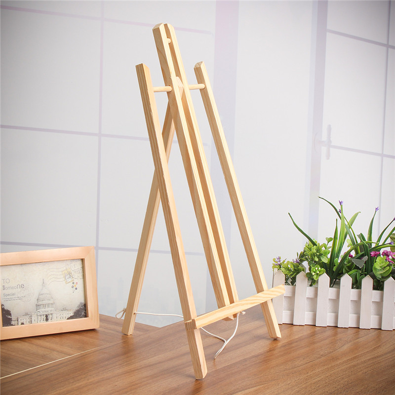 A4/A3 Beech Wood Table Easel For Artist Easel Painting Craft Wooden Stand For Party Decoration Art Supplies 30cm/40cm/50cm
