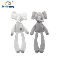 36 см, длинные ноги, слон, милая плюшевая игрушка, милый детский сон, комфортная кукла, плюшевая игрушка с животными, украшение дома, игрушка, п...