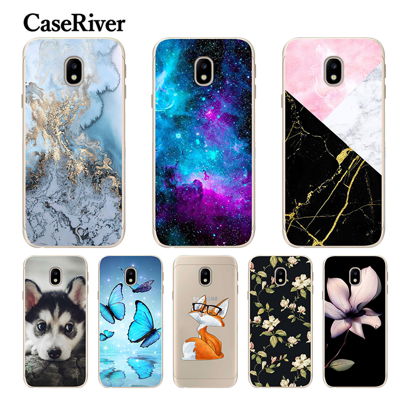 CaseRiver 5.2 FOR Samsung Galaxy J5 2017 Case A8 Plus 2018 Soft Silicone Phone FOR Coque Samsung J5 2017 Case image