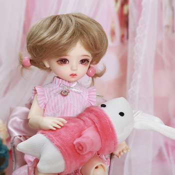 Napi Moti BJD SD Doll  1/6 YOSD Body Model Baby Girls Boys Resin Toy High Quality Fashion Shop Fixed-teeth
