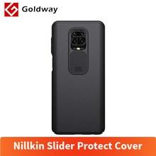 Nillkin-Funda protectora trasera con tapa de cámara para Xiaomi, carcasa de protección rígida para Xiaomi Redmi Note 9s Note 9 Pro Max, protector deslizante para cámara
