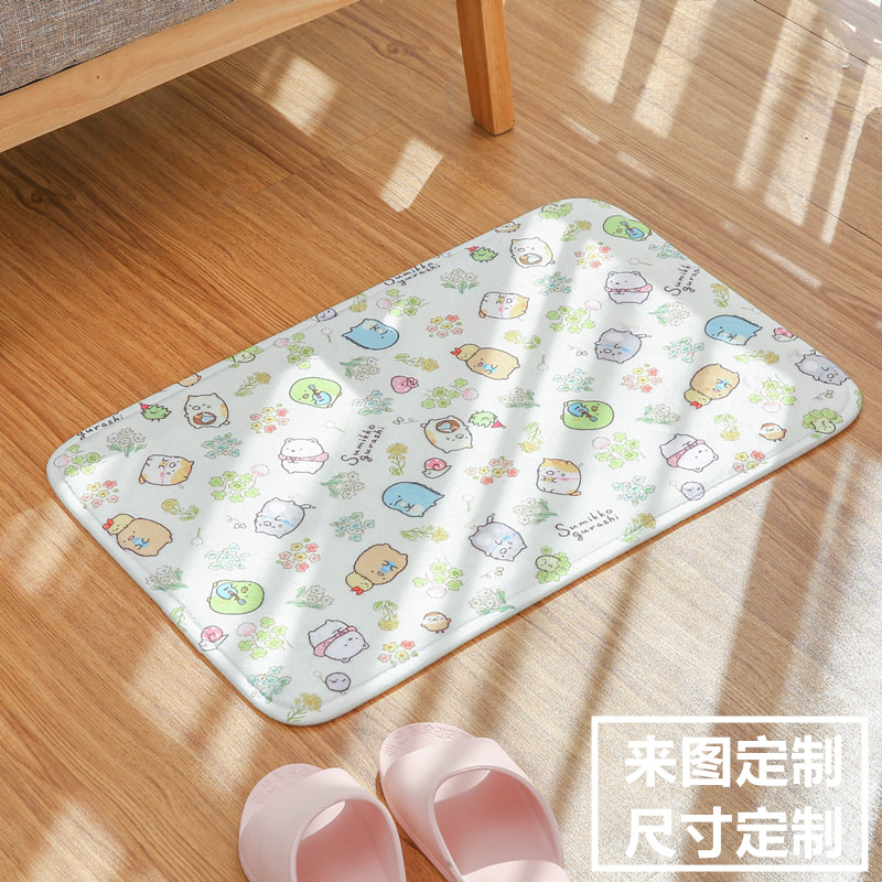Cartoon Sumikko Gurashi Rugs Household Non Slip Baby Kids Crawling Mat Lovely San-X Corner Bio Water Absorption Bedroom Carpet