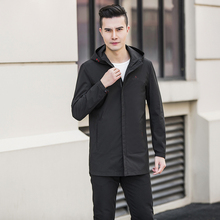 Параграф Lang Legendary новая мужская куртка с капюшоном мужской Тренч пальто стандартное повседневное пальто камуфляж