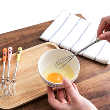 1Pcs Mini Handle Stirrer Whisk Coffee Milk Drink Practical egg Mixer Nozzle Foamer Kitchen Cooking small tools