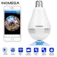 INQMEGA 960P Panorama 360 Grad Birne Licht IP Kamera Wireless Wifi FishEye Objektiv HD Lampe Kamera Indoor Hause Sicherheit kamera