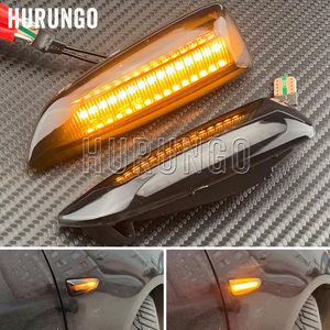 For Opel For Vauxhall Astra J K Crossland X Grandland Insignia B Zafira C LED Dynamic Turn Signal Light Side Fender Marker Lamp