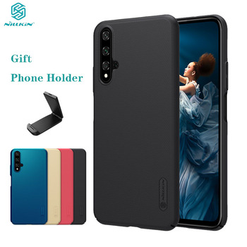 For Huawei Honor 30S 30 20 Case Honor 30 Pro+ 20 Pro Cover Nillkin Frosted Shield Hard PC Back Cover Case For Huawei Nova 5T