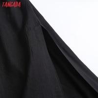 Tangada Women Oversized Long Dress High Quality Strap Sleeveless 2021 Fashion Lady Maxi Dresses Vestido 6D46 4
