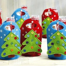 Christmas Tree candy bag Chrimas Decoration Gift Bag Cute Bags Candy items