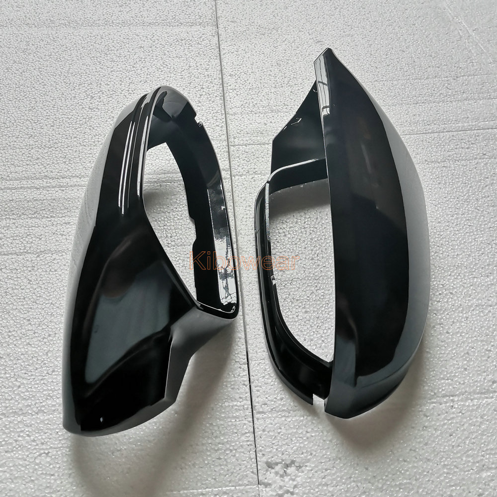 Fannty Car Left and Right Rear View Side Mirror Cover Wing Cover Compatible for Ford 2005-2008