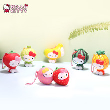 Tokidoki Hello Kitte Slow Rebound Fruit Series B Pendant Blind Box Bag Mobile Phone Pendant Jewelry Cute Doll Decoration Gift