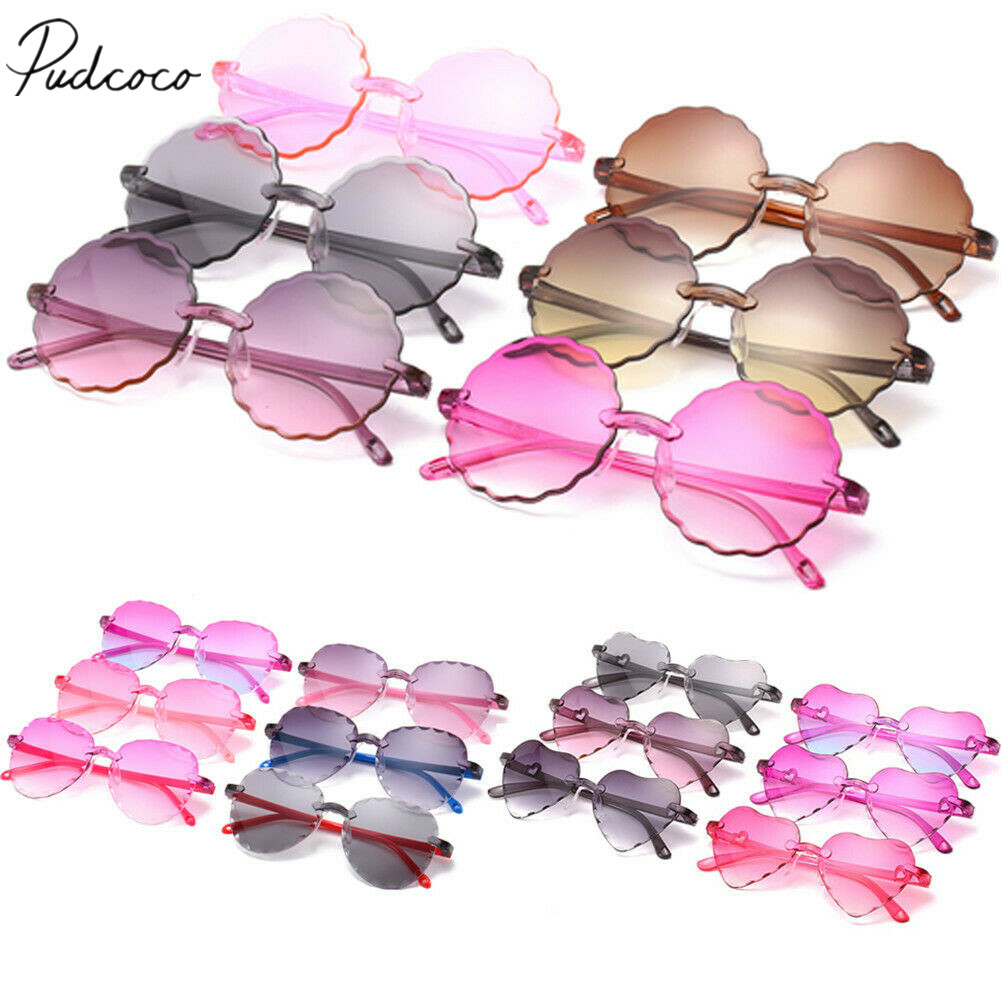 Baby Summer Accessories Children Kids Boys Girls Sunglasses Shades Holiday Sun Protection UV400 Sunglasses Kids Props Gift