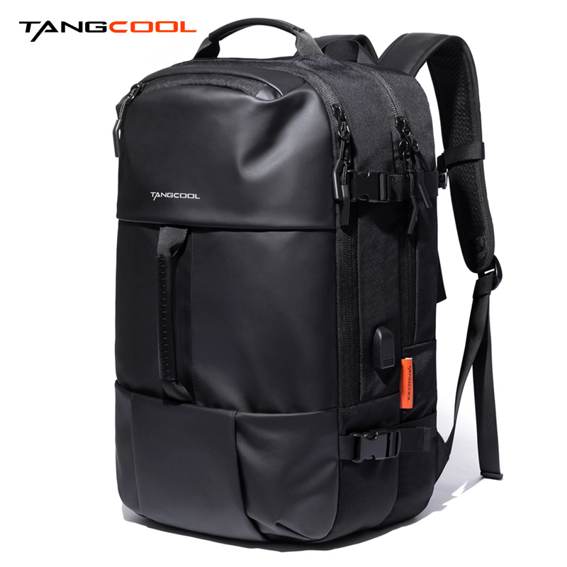 2019 Tangcool New Style Fashion Cool Versatile Oxford Cloth Multi-Compartment Riding Backpack Large Capacity Backpack Men