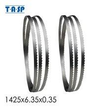 TASP 2pcs 56x1/4 להב מסור חשמלי 1425x6.35x0.35mm נגרות 8 להקת מסור כלים אביזרי דרייפר Nutool שועל Silverline