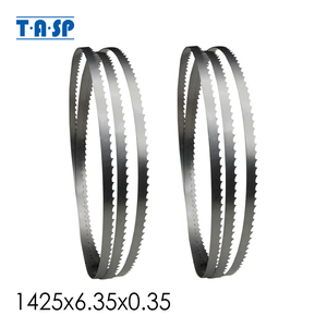 Image 1 - TASP 2pcs 56x1/4 Bandsaw Blade 1425x6.35x0.35mm Woodworking 8 Band Saw Tools Accessories for Draper Nutool FOX Silverline