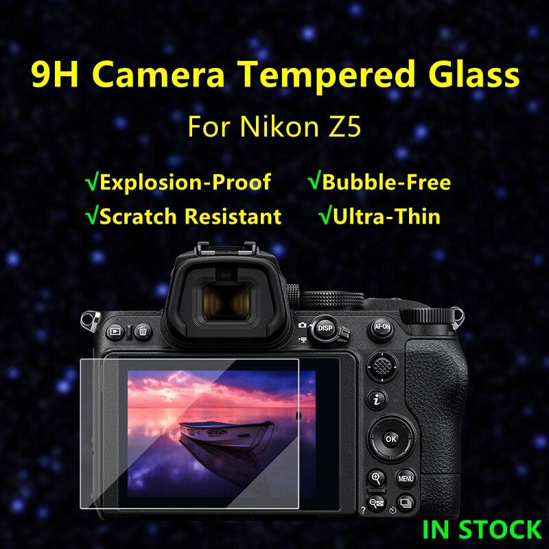 2 шт. nikon z5 Камера Стекло для Nikon Z5 z5 Экран защитная пленка Камера с уровнем твердости 9H твердость закаленного стекла Стекло ультра тонкий Экр...